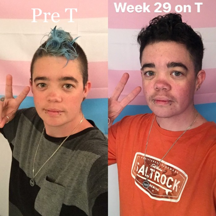 Week 29 on T comparison pic